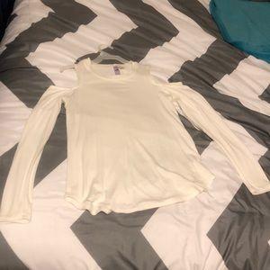 Long sleeved Francesca's shirt.